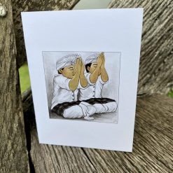 8 BROTHERHOOD GREETING CARD